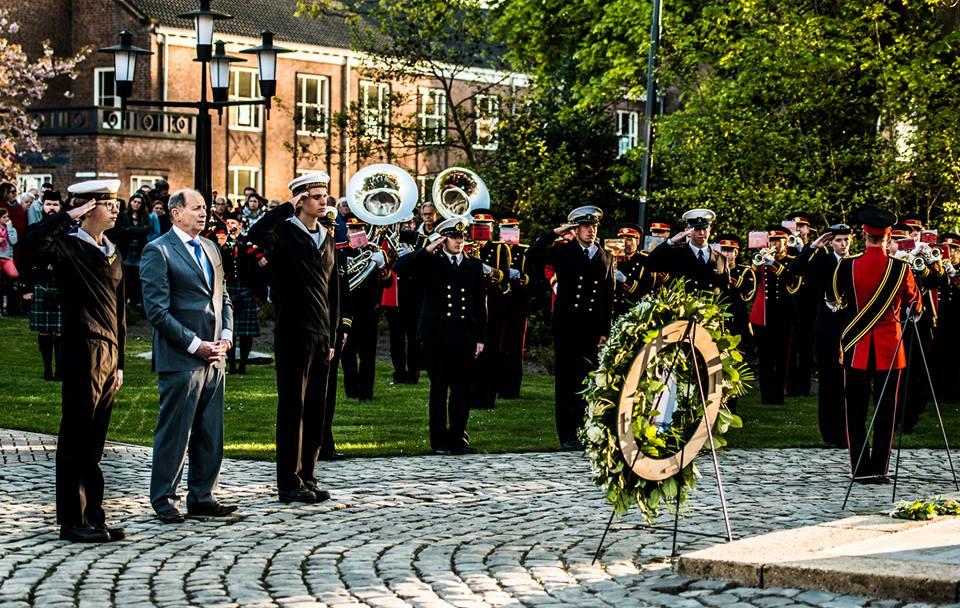 Herdenking in Waalwijk