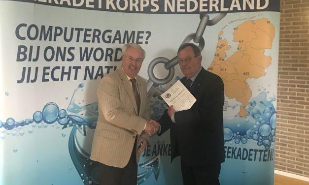 Zilveren Koggeschip voor Wim Voermans