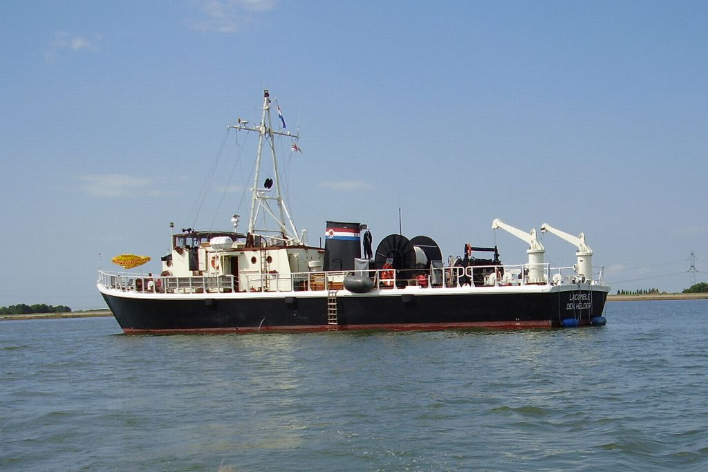 De Lacomblé van het Zeekadetkorps Den Helder
