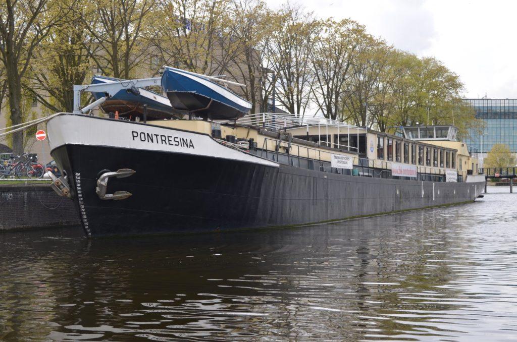 Ligplaats Pontresina Amsterdam