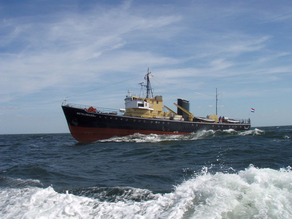 De Betelgeuze van het Zeekadetkorps Rotterdam