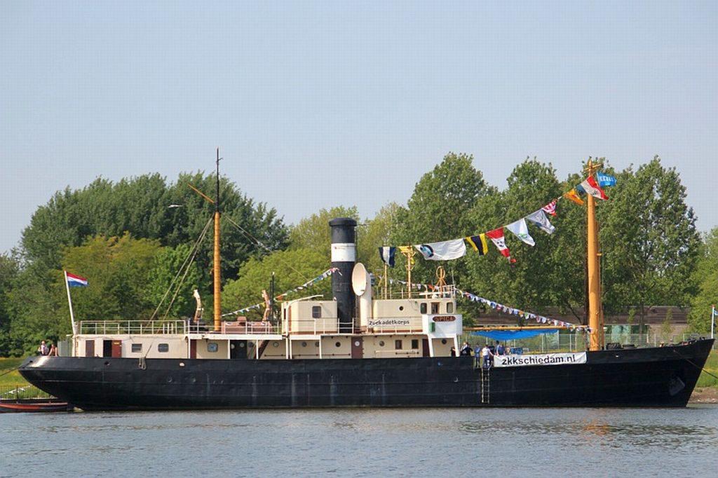De Spica van het Zeekadetkorps Schiedam