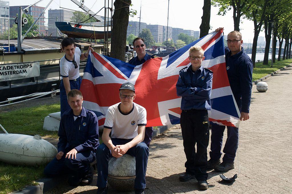 Deelnemers voor de reis naar Engeland, 2016