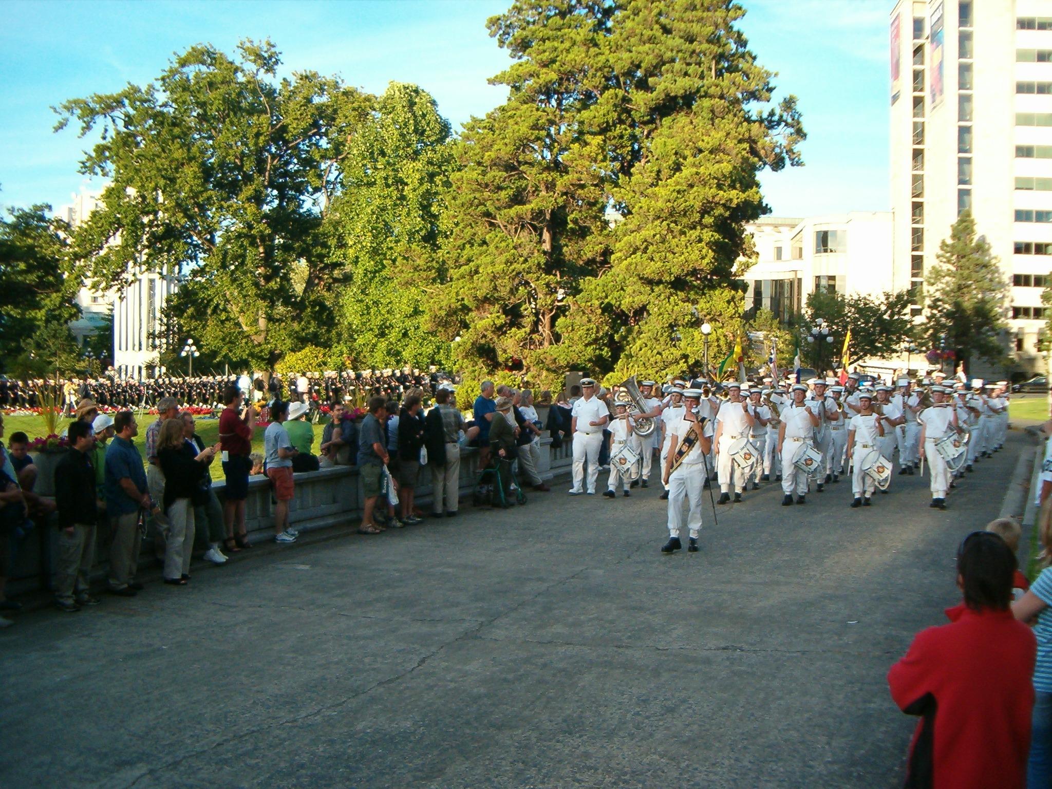 Op parade in Toronto, Canada