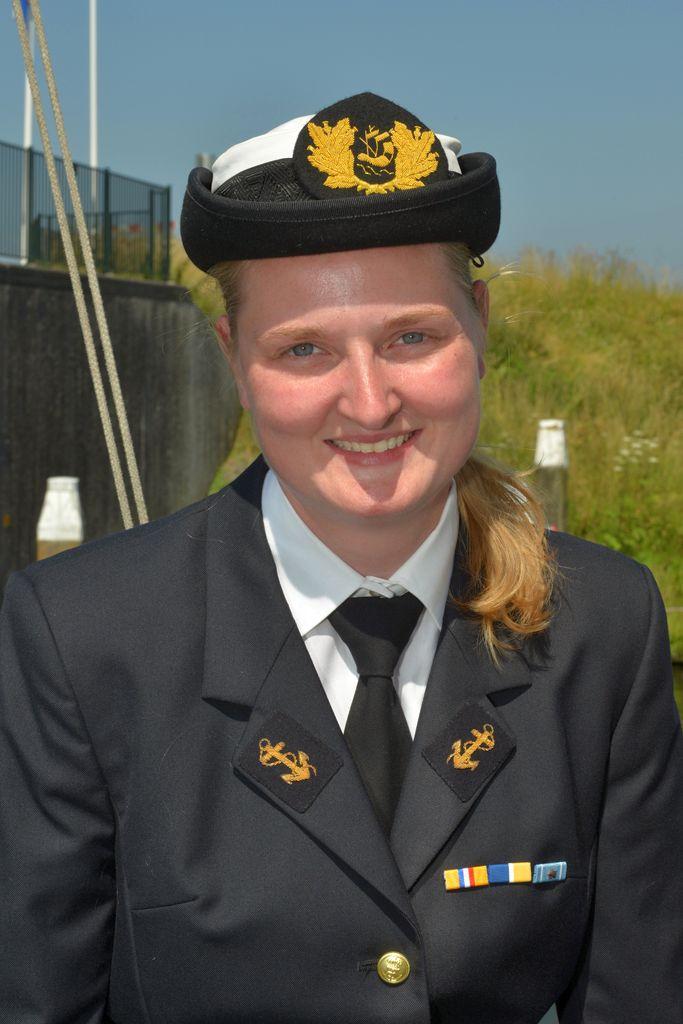 Olga Koster is commandant van het Zeekadetkorps Heerhugowaard.
