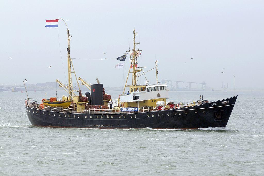 De Rigel van het Zeekadetkorps Maassluis