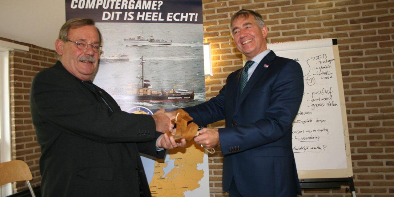 Nieuwe voorzitter Zeekadetkorps Nederland