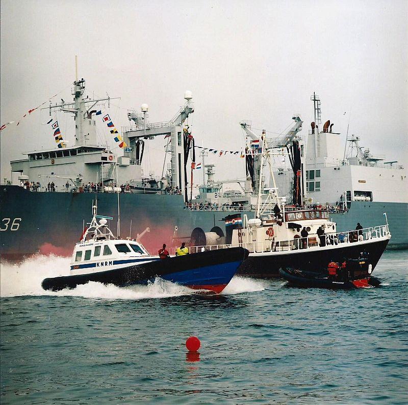 Zeekadetten bij de vlootdagen in Den Helder