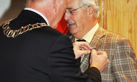 Zilveren Reiger voor voorzitter Heerhugowaard