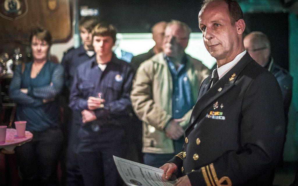Zilveren Koggeschip commandant Den Haag