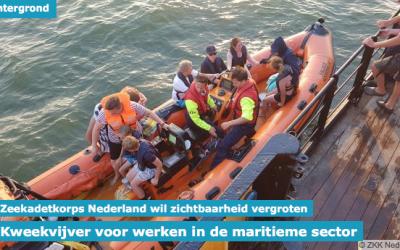 Kweekvijver voor werken in de maritieme sector