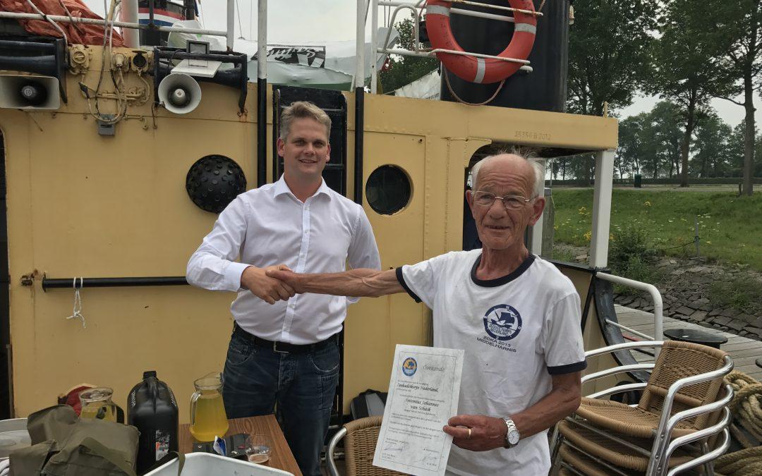 De oudste Zeekadet van Nederland