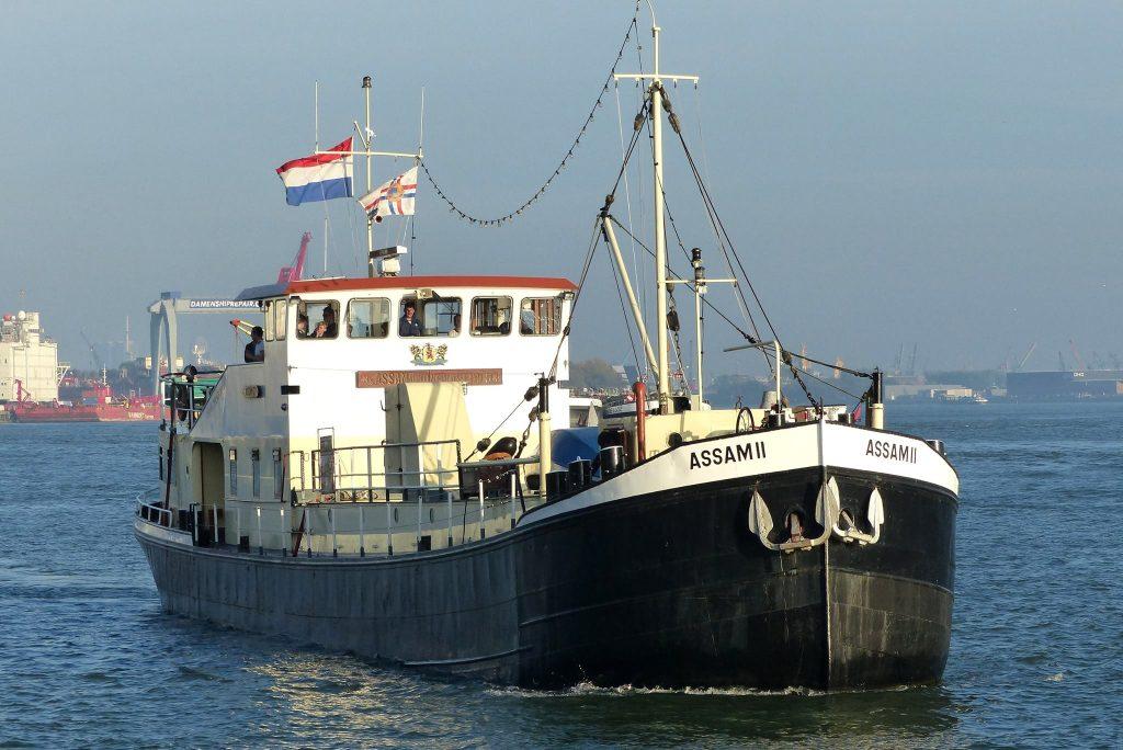 De Assam II van het Zeekadetkorps Vlaardingen