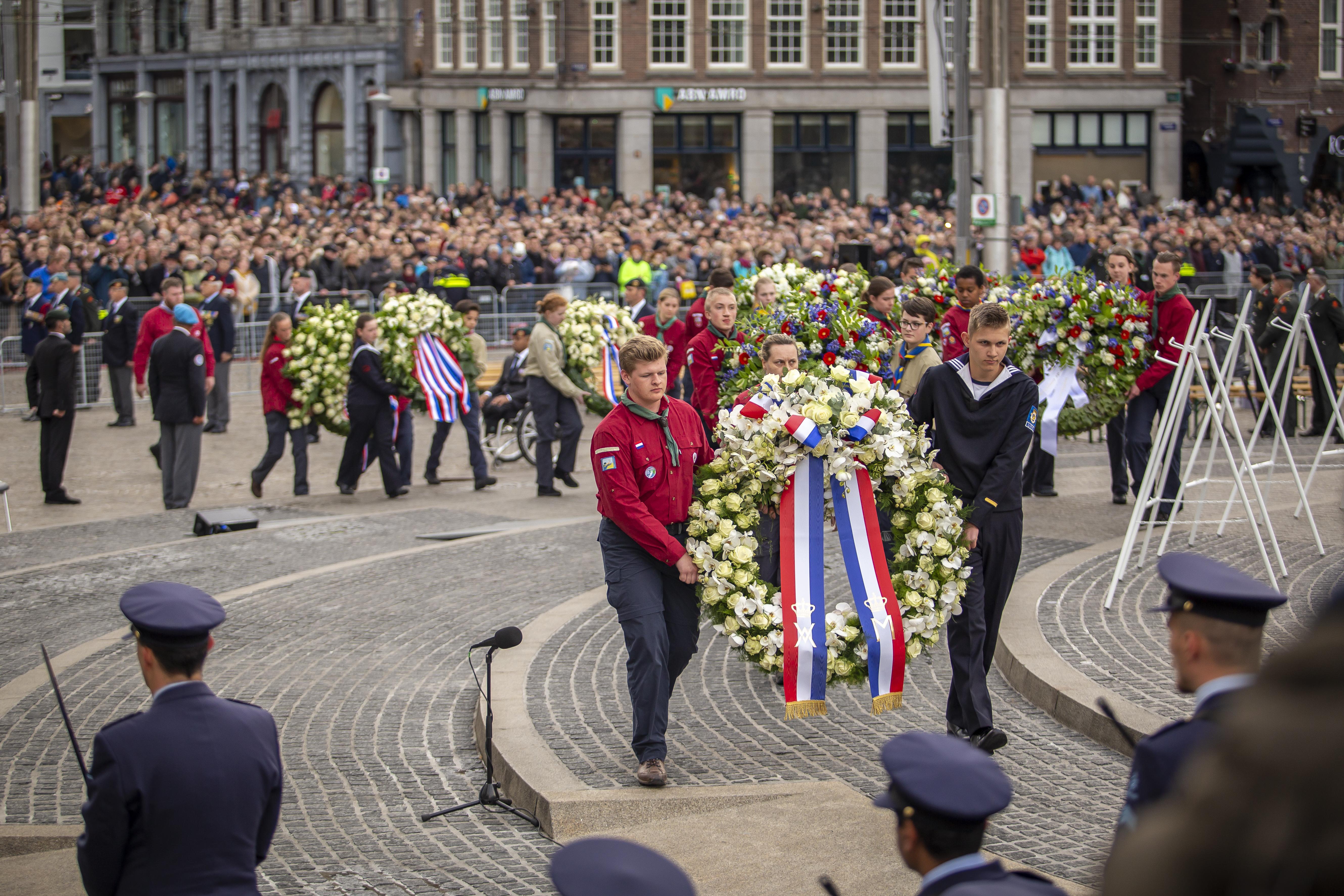 Zeekadetkorps Nederland, 4 mei 2019, Dam Amsterdam