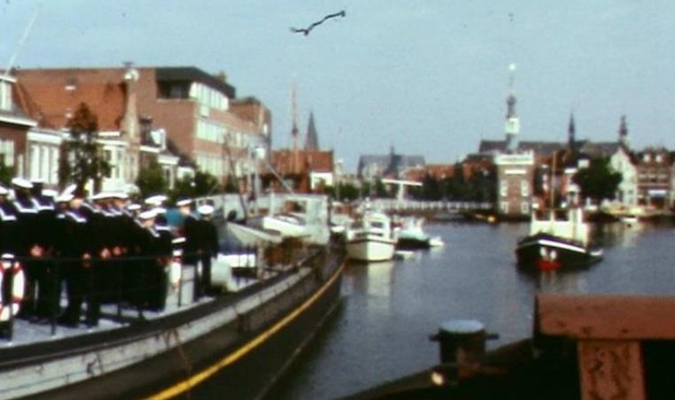Vertrek Zomerkamp begin jaren 80