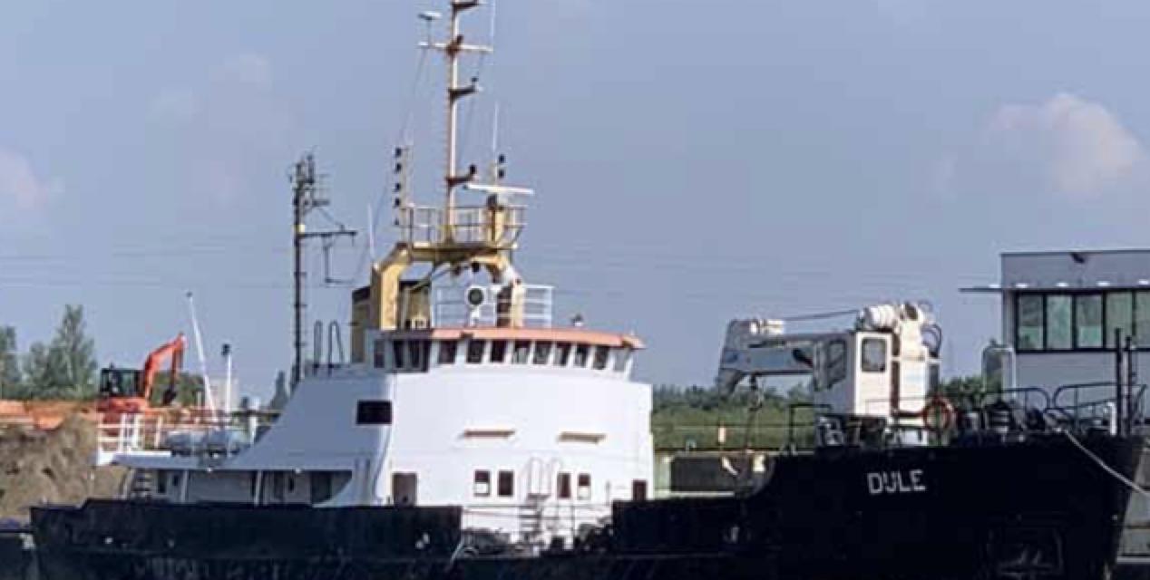 Nieuw schip in de vloot