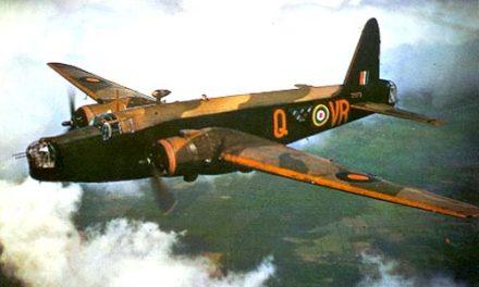 Berging Britse Wellington bommenwerper