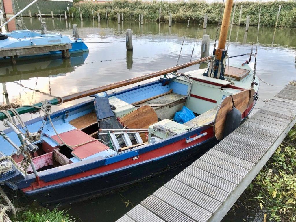 Het eerste bootje voor Zeekadetkorps Lelystad